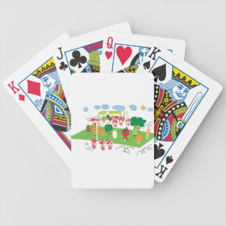 they need sport too bicycle poker deck