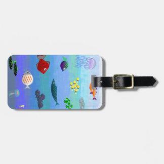 they ocean luggage tag