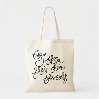 they pronouns guide tote