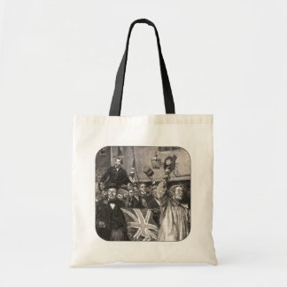 They Raised The Candidate Up Tote Bag