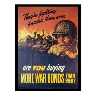They re Fighting World War 2 Post Card