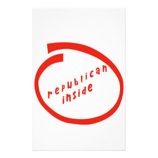 they republican inside stationery