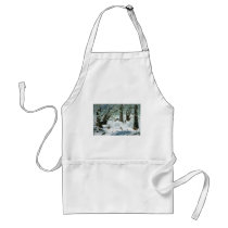 They Said It Wouldn't Snow Adult Apron