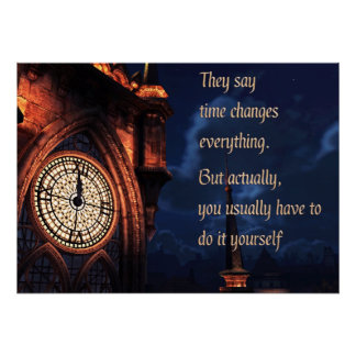 They Say Time Changes Everything Poster