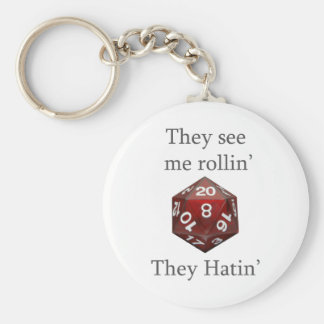 They See me rollin gear Basic Round Button Keychain
