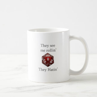 They See me rollin gear Classic White Coffee Mug