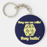 They see me rollin' they hatin' keychains