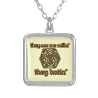 They see me rollin they hatin custom necklace