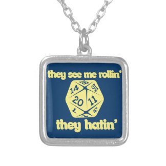 They see me rollin' they hatin' custom jewelry