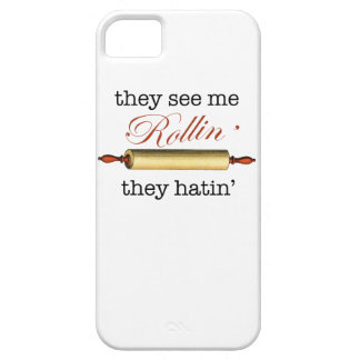 They see me Rollin' - Vintage Funny Baker iPhone 5 Covers