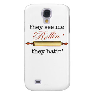 They see me Rollin' - Vintage Funny Baker Samsung Galaxy S4 Case