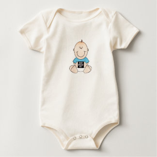 They shake me! baby bodysuit