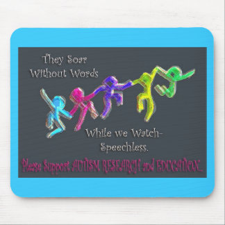 THEY SOAR WITHOUT WORDS MOUSE PAD