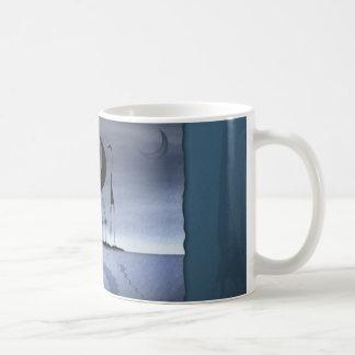 They stole the moon 3 coffee mug