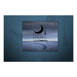 They Stole The Moon Print