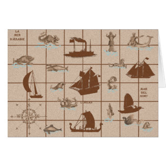 They That Go Down to the Sea in Ships Card