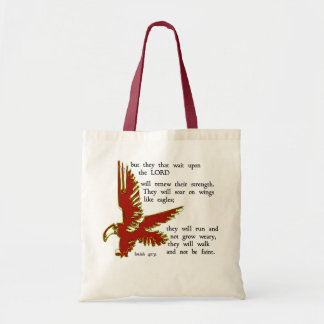 they that wait upon the Lord Tote Bag