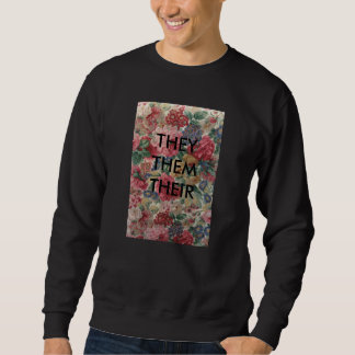 they/them/their pullover sweatshirt