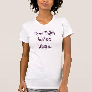 They Think We're Divas... Tshirt