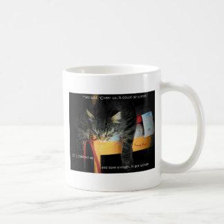 They told me to cheer up... coffee mug