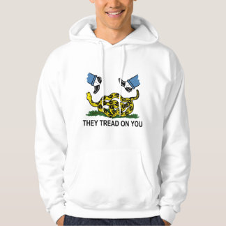 They Tread On You Hoodie