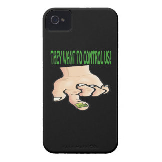 They Want To Control Us iPhone 4 Covers