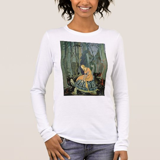 They were three months passing through the forest long sleeve T-Shirt