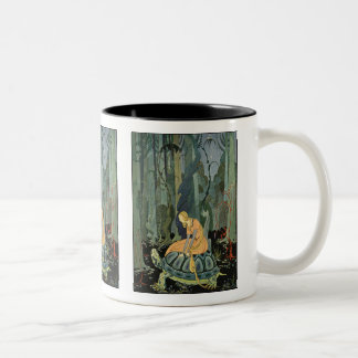 They were three months passing through the forest Two-Tone coffee mug