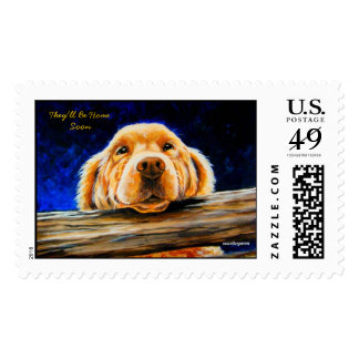 They'll Be Home Soon Postage Stamps