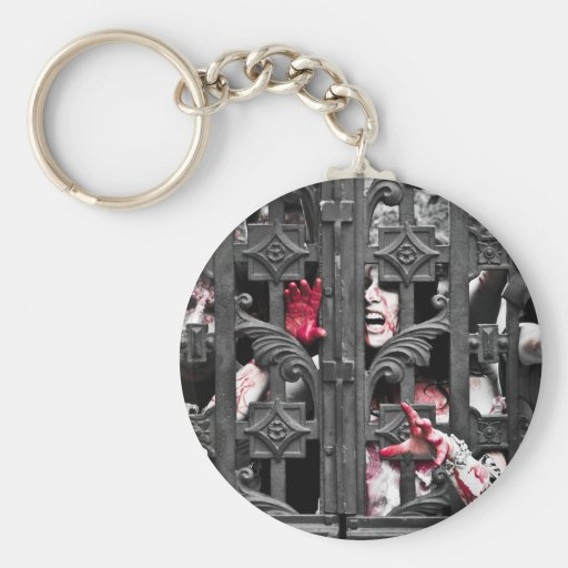 They're at the Gate! Keychain