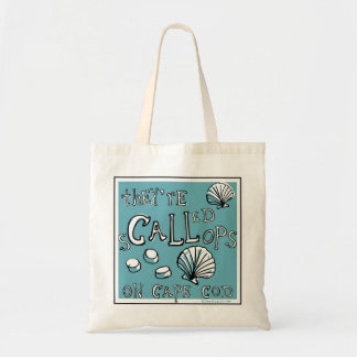 They're CALLed SCALLops Canvas Bag