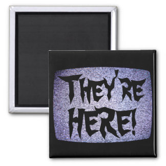 They're HERE! 2 Inch Square Magnet
