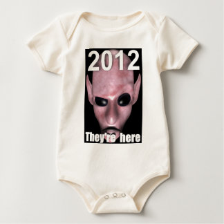 THEYRE-HERE BABY BODYSUIT