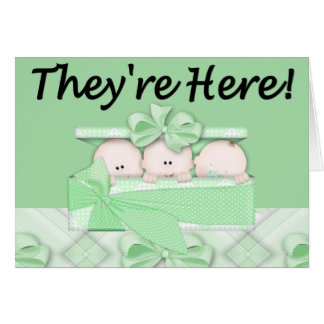 They're Here! Card