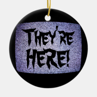 They're HERE! Christmas Ornament