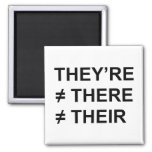 They're Not There 2 Inch Square Magnet