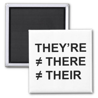 They're Not There Fridge Magnet