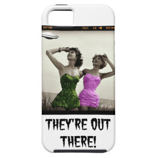 THeY'Re OuT THeRe!  FuNNy UFO PHoNe CaSE