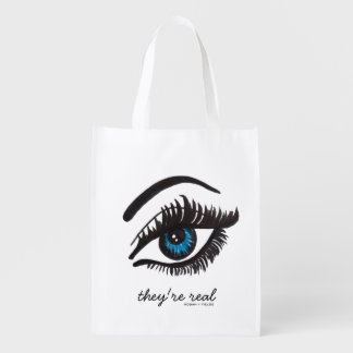 they're real LASH reusable tote bag