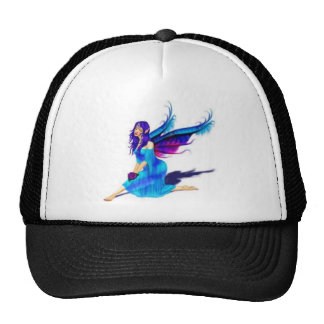 They're real to me: fairies trucker hat