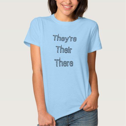 They'reTheirThere Playera