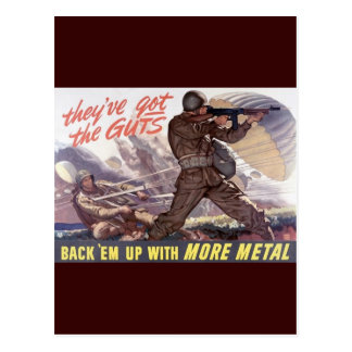 They've got the guts : back 'em up with more metal postcard