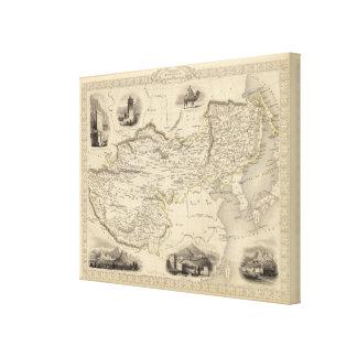 Thibet, Mongolia, and Mandchouria Canvas Print