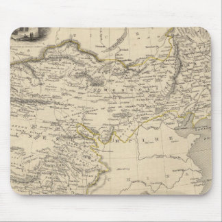 Thibet, Mongolia, and Mandchouria Mouse Pad