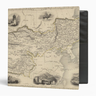 "Thibet, Mongolia, y Mandchouria Carpeta 1 1/2"""