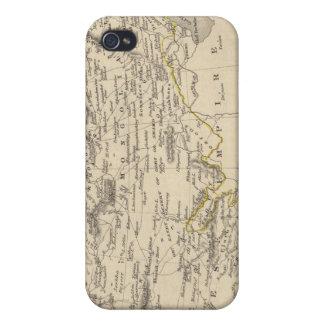 Thibet, Mongolia, y Mandchouria iPhone 4 Carcasa