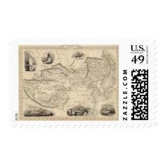 Thibet, Mongolia, y Mandchouria Sellos Postales