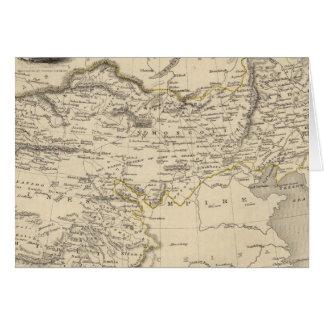 Thibet, Mongolia, y Mandchouria Tarjeta De Felicitación
