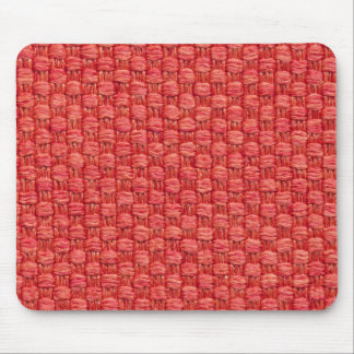 Thick and thin red strings mouse pad