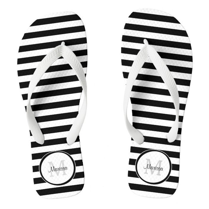 Thick Black and White Stripes With
